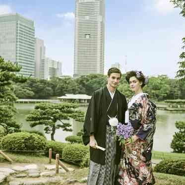 LUMIVEIL TOKYO(ルミヴェール東京) 【浜離宮恩賜庭園】会場近くには緑豊かな庭園も。和と洋の融合が素敵な空間