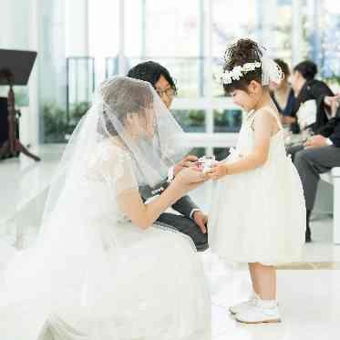 アヴァンセ リアン 大阪 お子様のお手伝いも。皆様でお二人のご結婚式をお創りしていきます