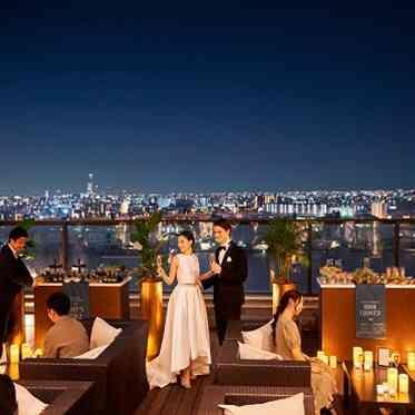 アヴァンセ リアン 大阪 カラードレスもしっかりお写真に残して