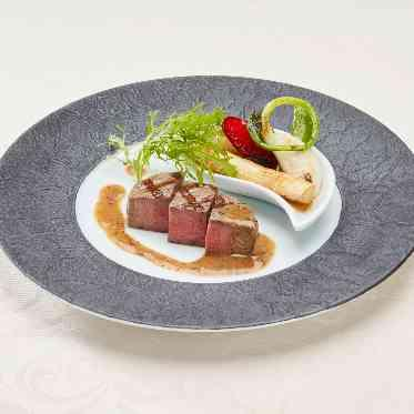 アヴァンセ リアン 大阪 【和】和牛フィレ肉の西京焼き トリュフソース