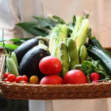 ラグナヴェール アトリエ シェフが産地からこだわった食材を使用。彩りまで考え抜かれています