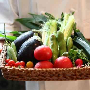 ラグナヴェール アトリエ 産地からこだわった食材はシェフが吟味しています