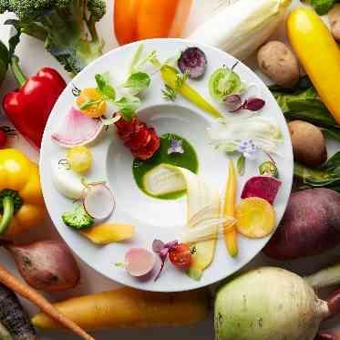 ラグナヴェール アトリエ こだわりの食材を使用しているので彩りまで考えられています