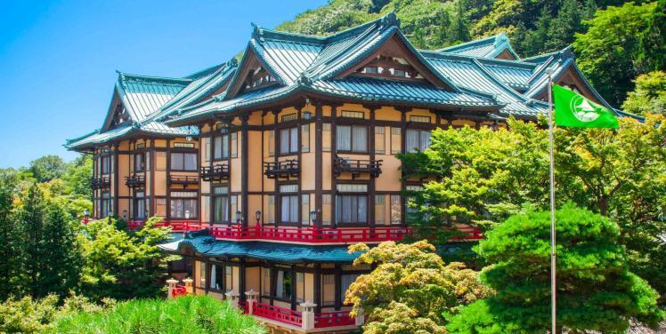 富士屋ホテル 外観