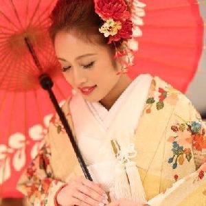 ベルヴィ武蔵野 【先輩カップルWeddhing】番傘をさしてしっとりと記念撮影