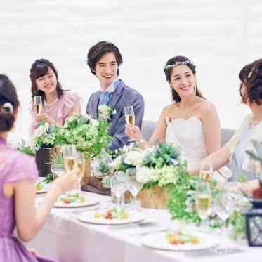 ベルヴィ武蔵野 親族や親しい友人だけを招いての会食スタイルもオススメ☆