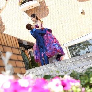 ベルヴィ武蔵野 【先輩カップルWedding☆】前撮りロケーションにて♪
