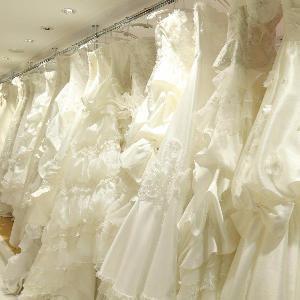 ベルヴィ武蔵野 こちらはウェディングドレスの一部です☆ブランド衣装も多数用意♪