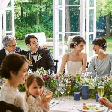 アーカンジェル迎賓館 宇都宮 大切な方々だけを招待した会食は、会話も弾みます
