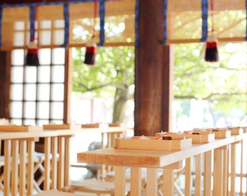 真清田神社参集殿の画像3