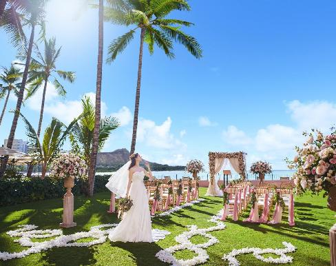 ロイヤル ハワイアン ウェディングの画像1