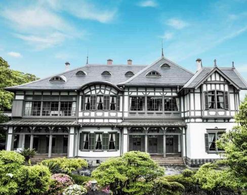 国指定重要文化財 旧松本邸  (西日本工業倶楽部)