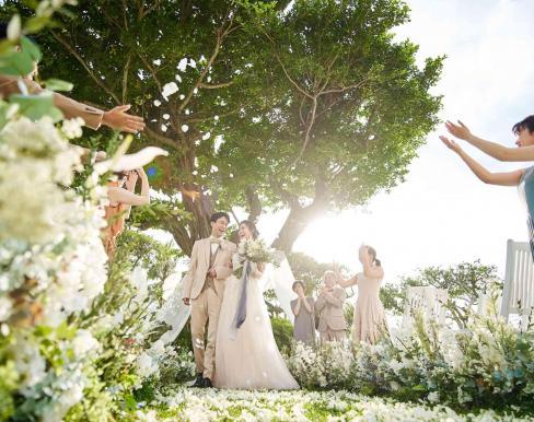 バニヤンツリー・ガーデンウェディングの画像2