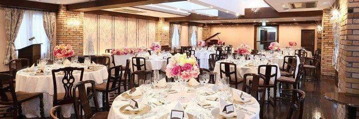 レストランウエディング 結婚式 ザ・ハウス白金