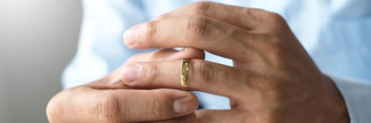 結婚指輪.男性