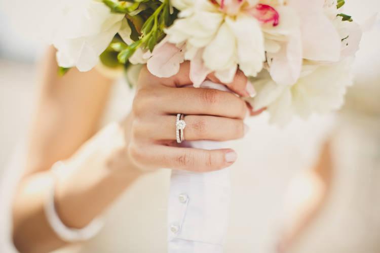 婚約指輪,重ね付け
