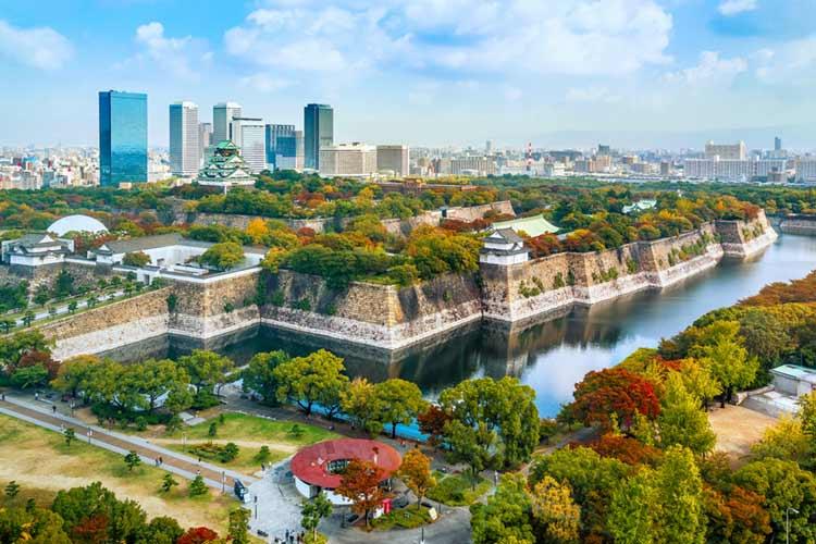 大阪城 風景