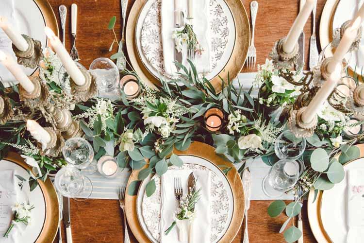テーブルランナー 披露宴
