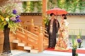 【和装が映える結婚式】本格神殿&パーティ会場見学!和婚フェア