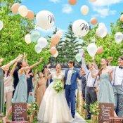 【1.8万円絶品試食付き】自然体Wedding体験♪緑溢れるガーデン×貸切邸宅*
