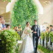 \花嫁体験TOP3/緑溢れる独立教会♪1組貸切W&口コミ話題の試食
