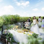 平日限定◆婚礼試食&鎌倉野菜×フェザーシャワー挙式体験付