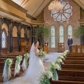 【11大特典付】独立型大聖堂の上質Wedding体感×豪華牛フィレ試食