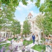 【人気のガーデンWを体験!】緑豊かな教会×白亜の邸宅全館見学