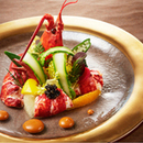 【お料理重視の方へ】豪華メイン料理試食&ランクアップ無料特典