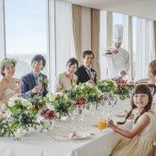 【最短2ヶ月OK★料理ランクアップ特典】家族&少人数婚相談会