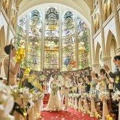 【朝得】BIGプレゼント付◆大聖堂での模擬挙式×和牛コース試食