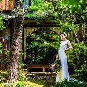 【心踊る至極の婚礼試食】ランチチケット1万×時を超えた京建築