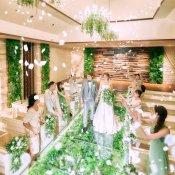 残1組★7月ラスト!\最大100万円の豪華特典/緑に囲まれたチャペル×ドレス見学
