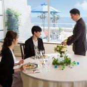 【牛フィレ付無料コース料理】海を眺めながらのプレミアム試食会