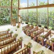 【3組限定*最大120万優待】光溢れる森の教会×無料コース試食