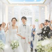 【憧れ叶う】光と水のチャペル×大階段の花嫁体験*特選牛試食