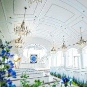 【月曜限定】ドレス特典×花嫁憧れのステンドグラス挙式体験