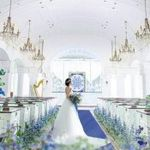 《最大130万円特典》ロイヤルブルー輝くチャペル体験×試食付