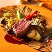 【秋の味覚が満載】メイン料理2種食べ比べ◆本番直前会場の見学