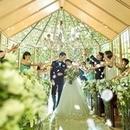 【話題◎緑×光の全天候型!森のチャペル】模擬挙式&大階段入場&DIY花嫁体験