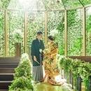 【ハナユメ限定】和装も映える!森の教会☆フォアグラ・トリュフ試食×ドレス40万円