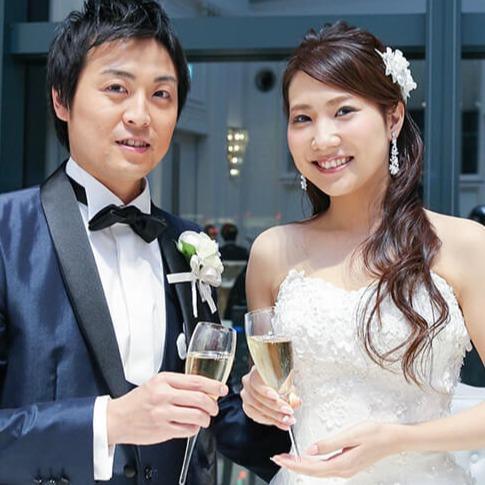 2017.11 挙式 Masanobuさん♥Chinatsuさん